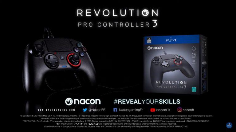 Revolution Pro Controller 3 – La manette se dévoile en vidéo