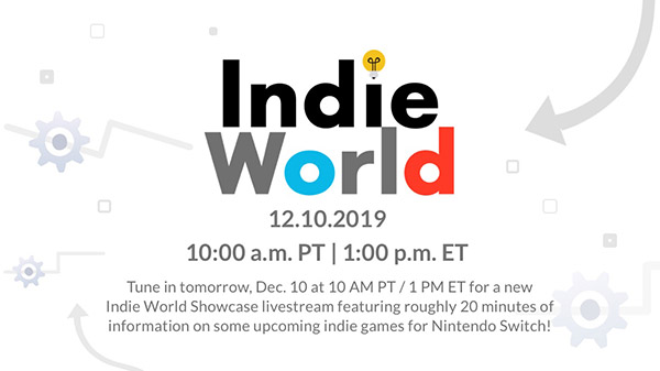 Nintendo Switch – Indie World Showcase le 10 décembre 2019