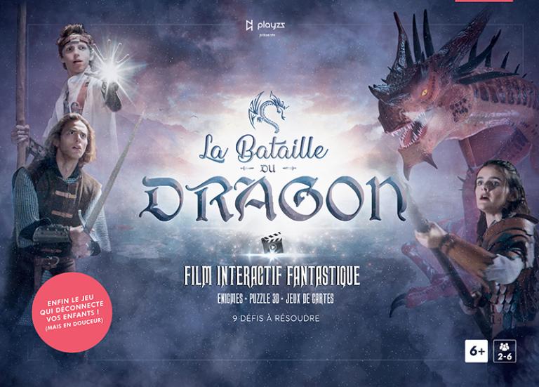 La Bataille du Dragon – Un jeu de société au concept innovant !