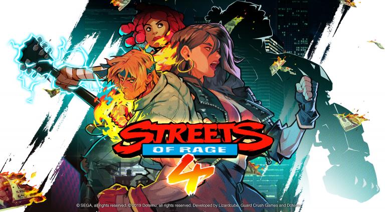 Streets of Rage 4 – Un nouveau personnage jouable dévoilé
