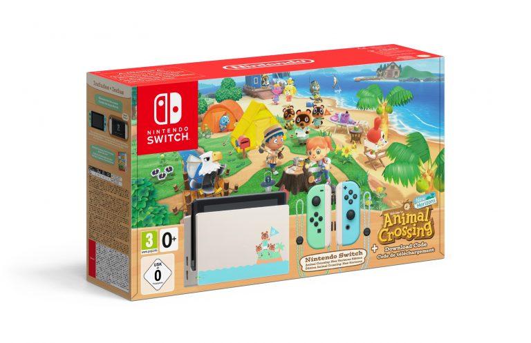 Nintendo Switch – Une version limitée Animal Crossing : New Horizons annoncée