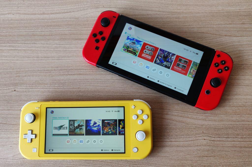 Nintendo Switch Lite vente