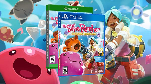 Slime Rancher – Une version Deluxe Edition attendue sur PlayStation 4 et Xbox One