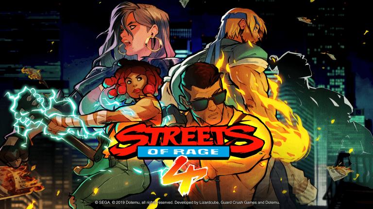 Streets of Rage 4 – Le jeu dévoile les artistes de son OST