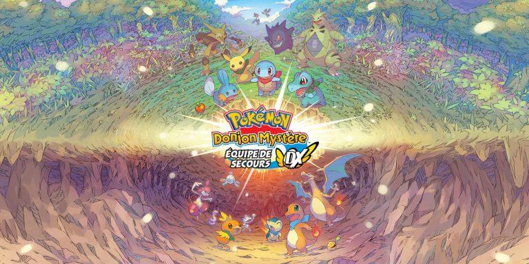 Pokémon Donjon Mystère : Équipe de Secours DX – Dévoile son gameplay dans plusieurs vidéos