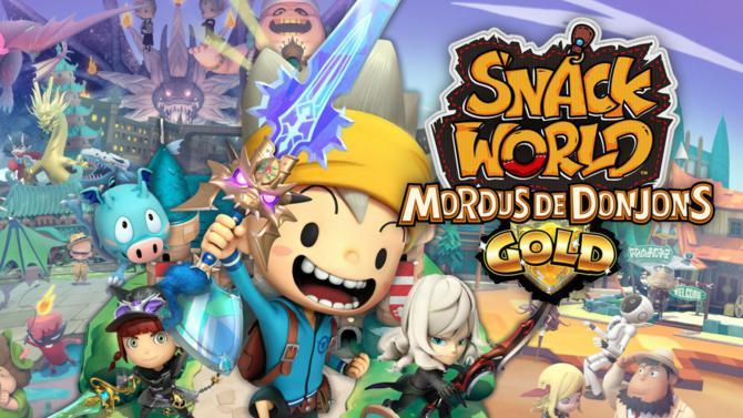 Snack World : Mordus de Donjons