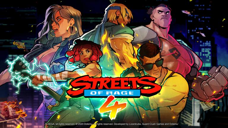 Streets of Rage 4 – multijoueur et 5e perso dévoilé