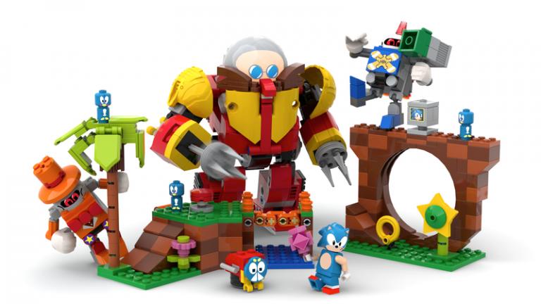 LEGO Sonic – La firme examine le projet d'un fan
