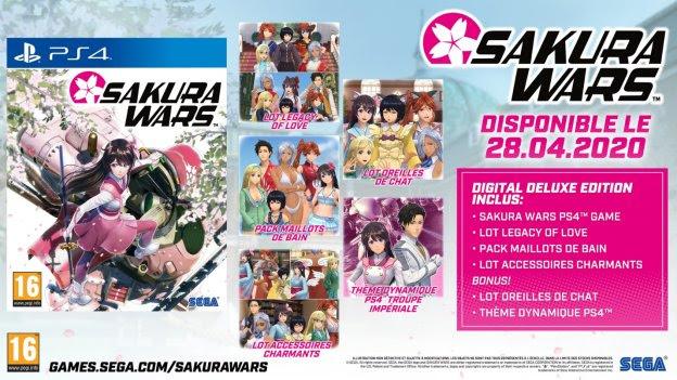Sakura Wars - Deluxe Edition