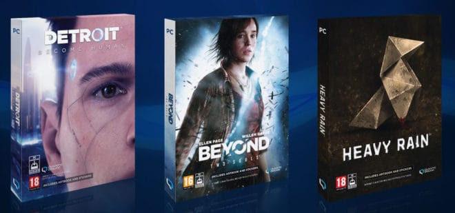 Quantic Dream – Les trois jeux disponibles sur PC