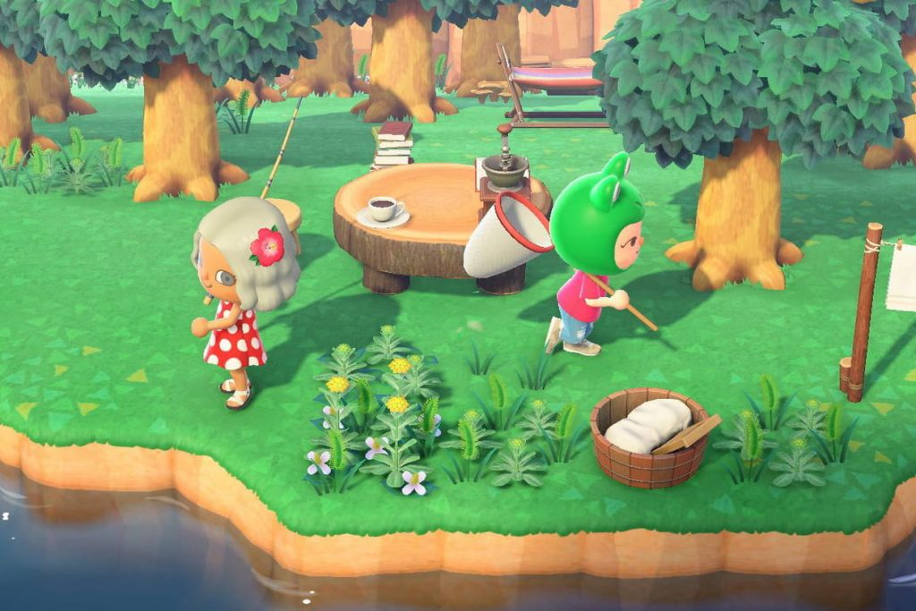 Animal Crossing journée de la terre