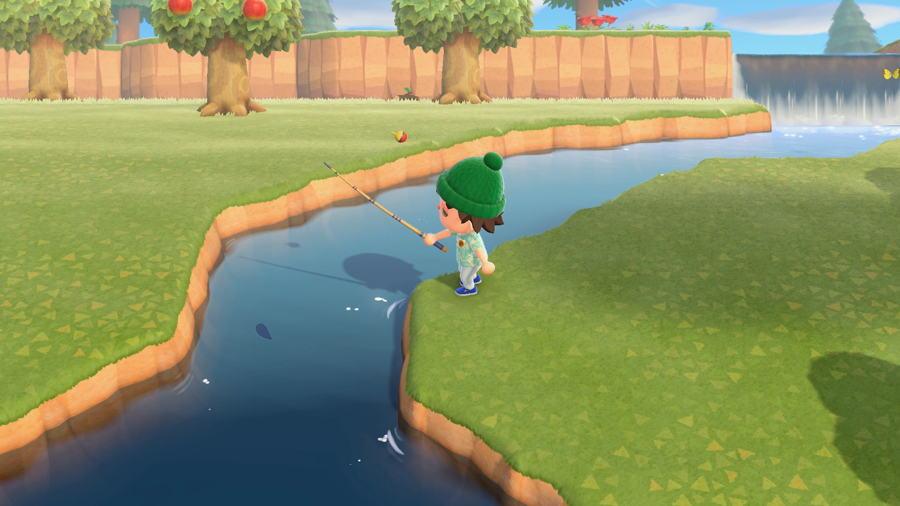Animal Crossing pêche