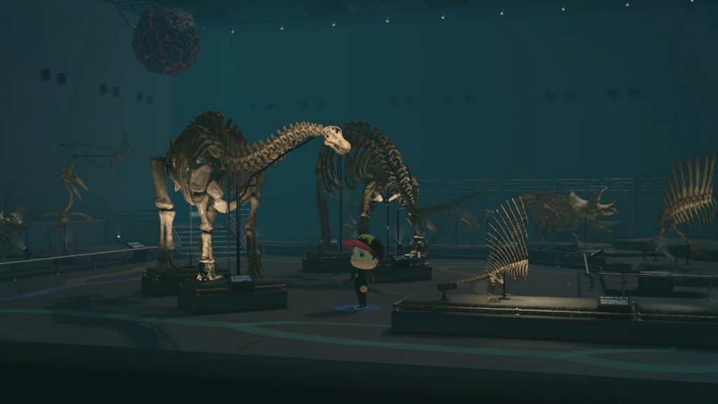 Fossile Animal Crossing