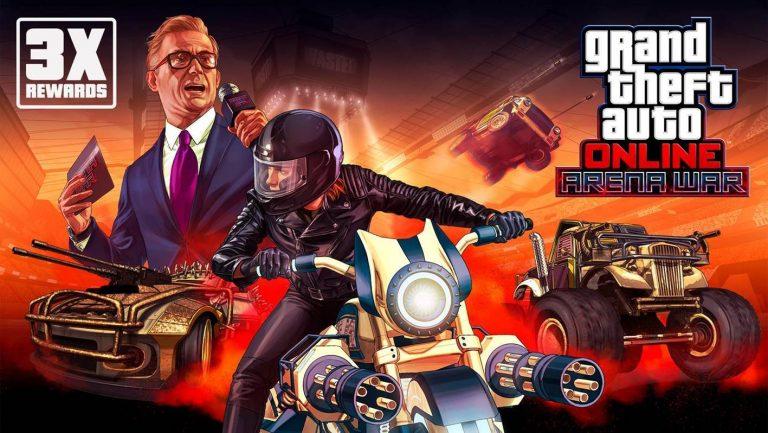 GTA Online – Récompenses triplées et des promos !