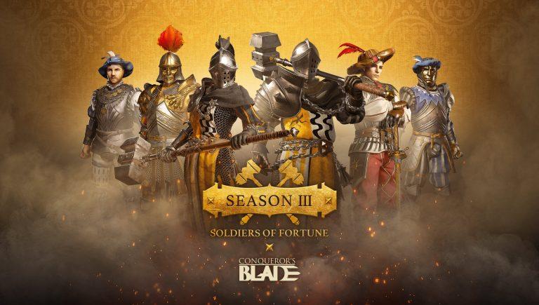 Conqueror's Blade – Soldiers of Fortune est désormais disponible