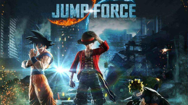 Jump Force Deluxe – Le jeu attendu courant 2020 sur Nintendo Switch