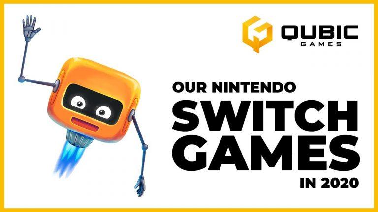 Nintendo Switch – 5 jeux annoncés par Qubic Games