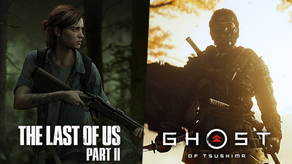 The Last of Us Part II - Ghost of Tsushima