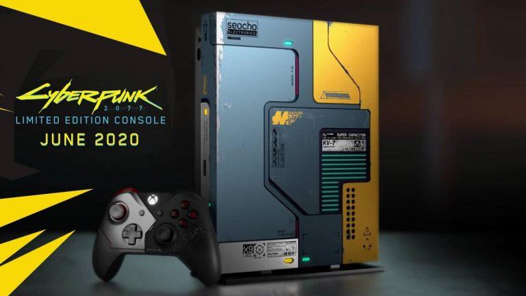 Cyberpunk 2077 – Une Xbox One X limitée à son effigie !