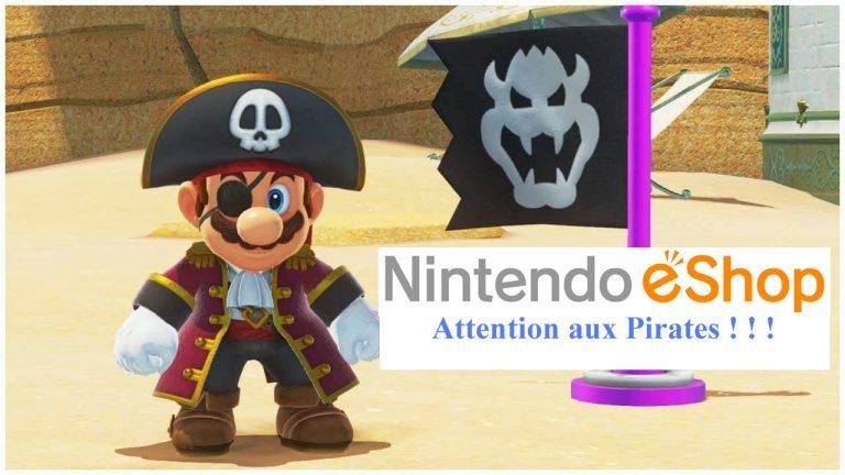 Nintendo Eshop – Des comptes actuellement piratés