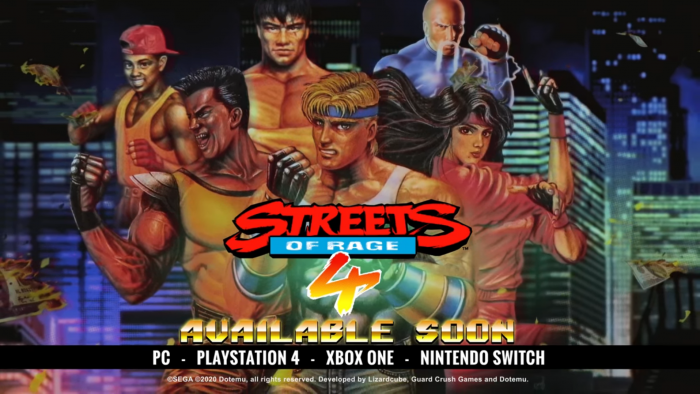 streets of rage 4 a