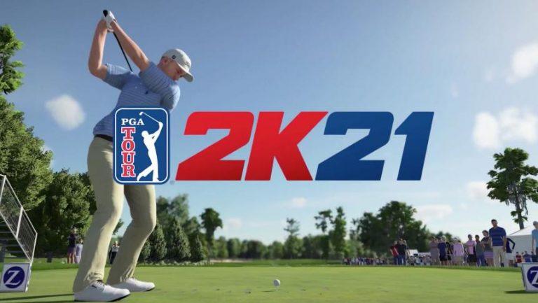 PGA TOUR 2K21 – La simulation de golf arrive en août !