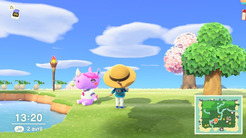 Animal Crossing habitant
