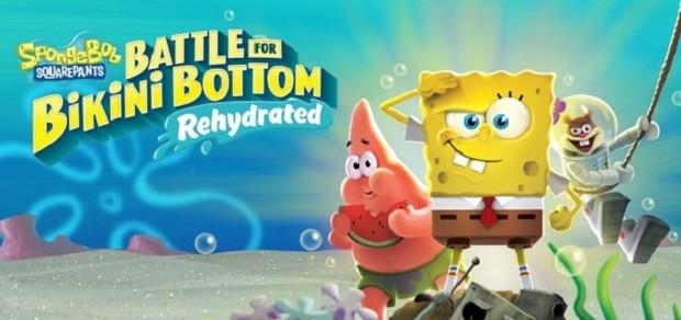 Bob l'Eponge : Bataille pour Bikini Bottom – Réhydraté – S'offre une vidéo gameplay
