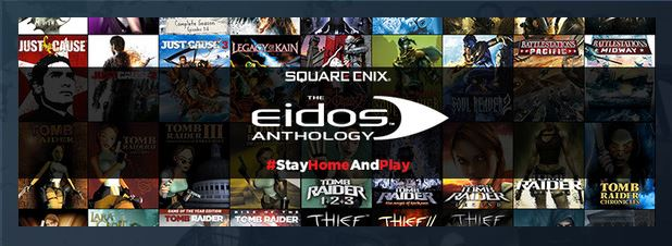 Bon Plan – Square Enix Eidos Anthology Bundle : 54 (grands) jeux à 37€50