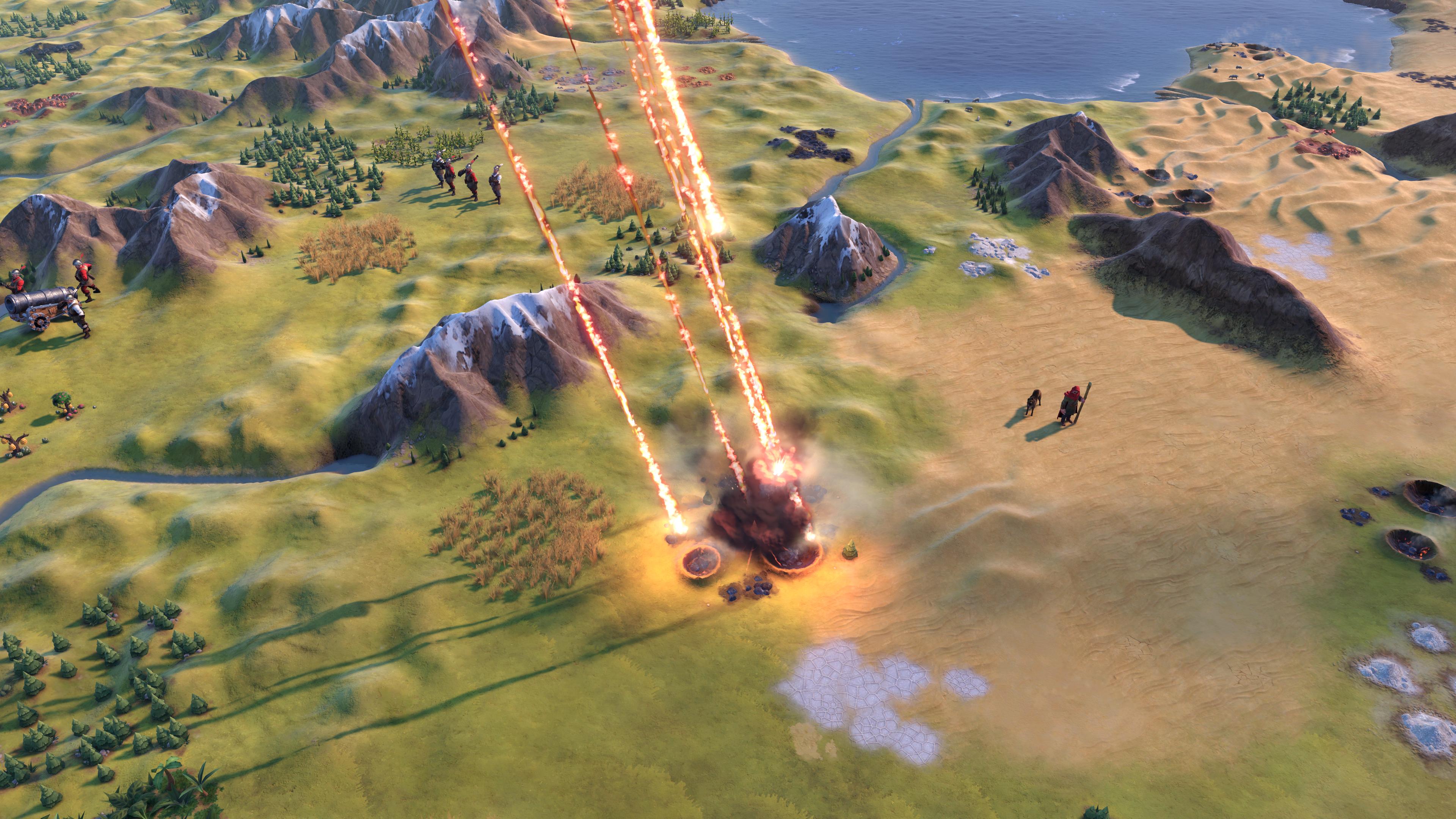 Civilization VI - New Frontier Pass - Maya & Gran Colombia Pack - Apocalypse Mode Meteor Shower