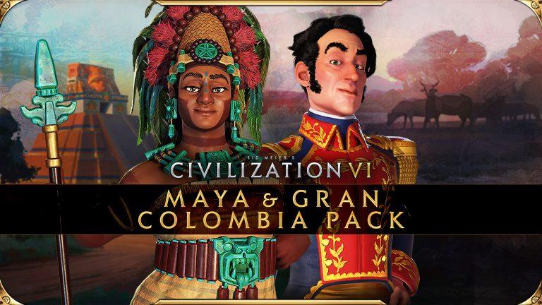 CIVILIZATION VI – Les packs Maya et Grande Colombie disponible