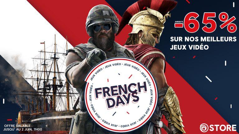 French Days – Ubisoft propose des réductions sur plusieurs de ces titres