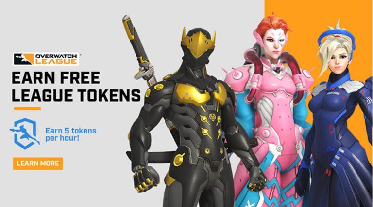 Overwatch League – Les gains de jetons font leur retour ce week-end