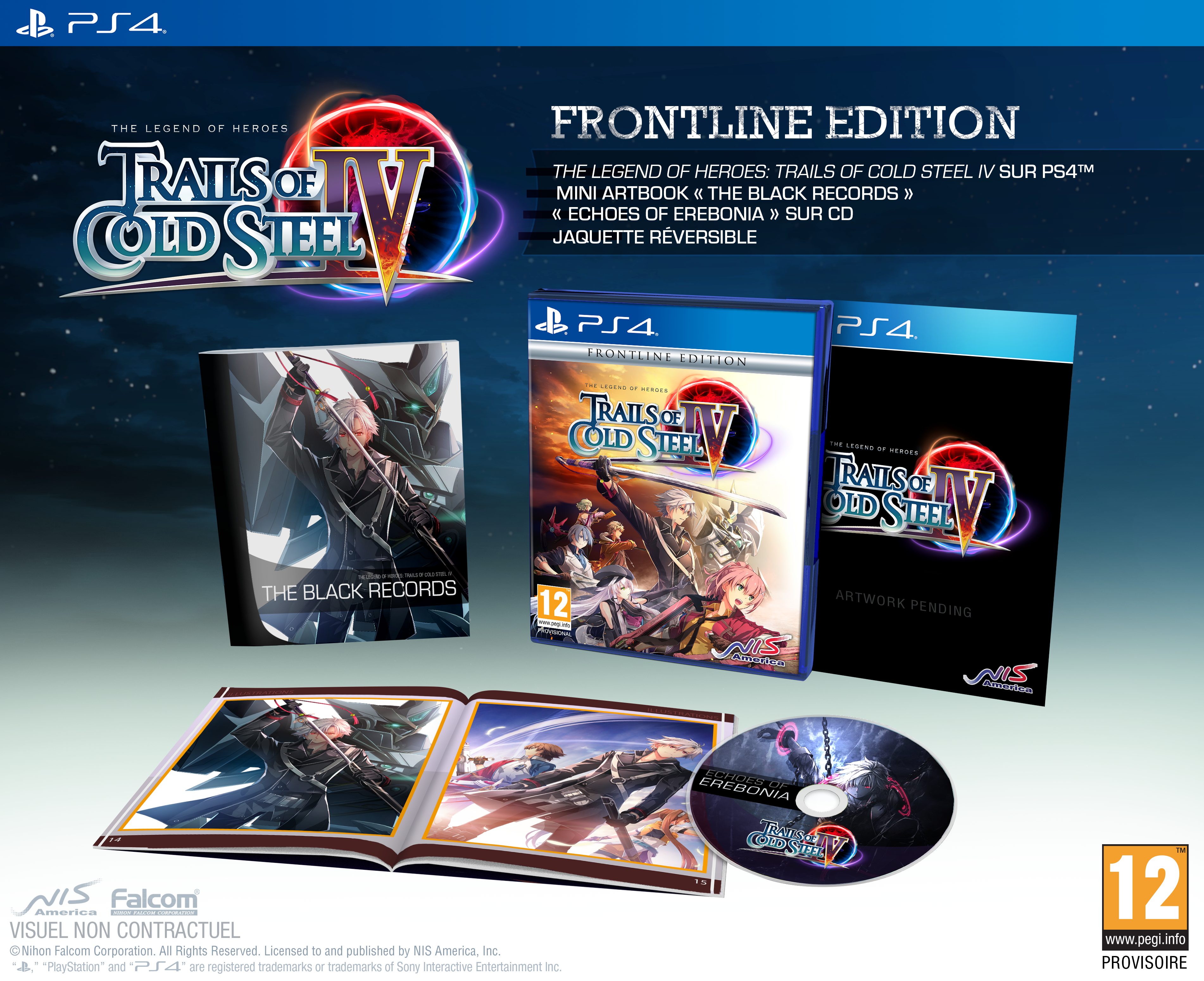 Trails of Cold Steel IV PS4