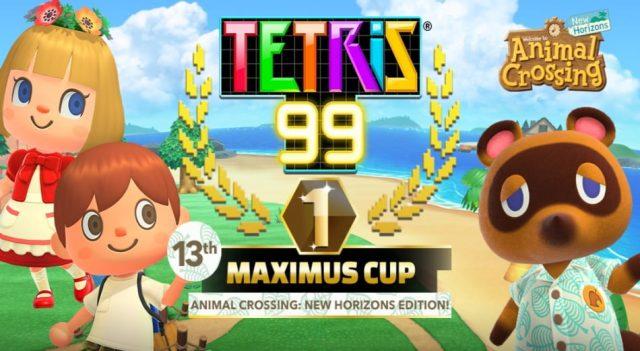 Tetris 99 x Animal Crossing 01