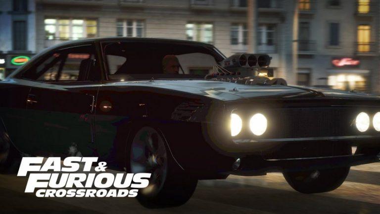 Fast & Furious Crossroad – Dévoile une vidéo gameplay du jeu…