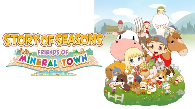 Story of Seasons : Friends of Mineral Town – Précommandez le jeu dès maintenant
