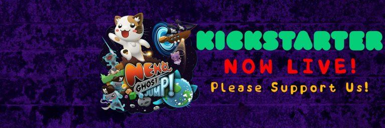 Neko Ghost Jump – Un Puzzle-Platformer 2D/3D sur KickStarter
