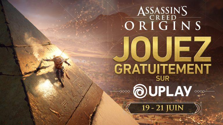 Assassin's Creed Origins – Découvrez l'Egypte le temps d'un week-end gratuit !