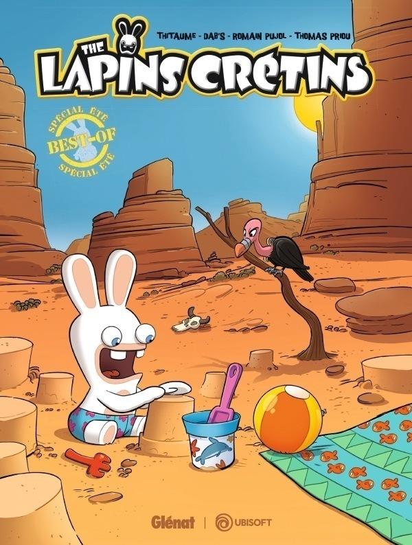 Les Lapins Crétins – Le meilleur du pire des Lapins Crétins arrive en BD !
