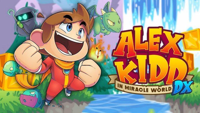 Alex Kidd in Miracle World DX – Annoncé sur consoles et PC