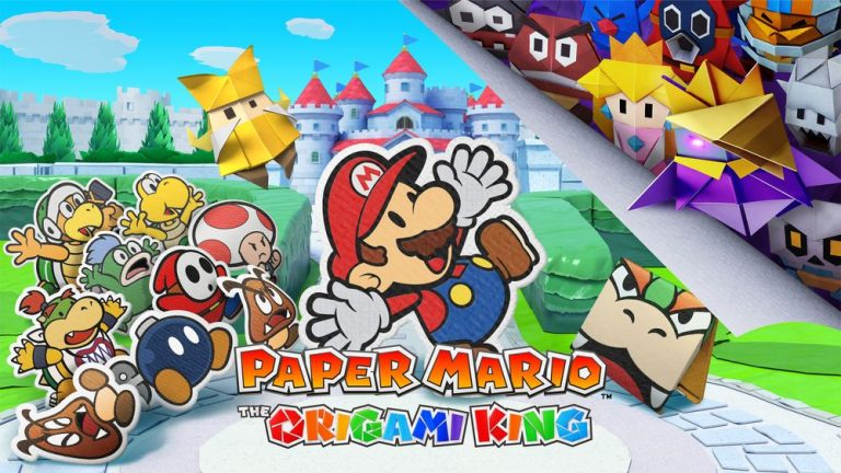 Paper Mario – The Origami King sur Nintendo Switch se dévoile !