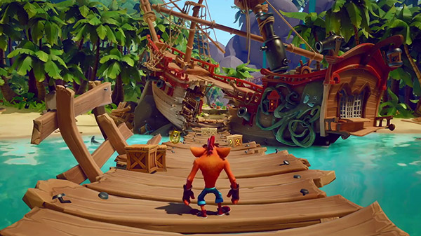 Crash Bandicoot 4: It's About Time – Une video de gameplay