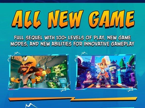 Crash Bandicoot niveaux