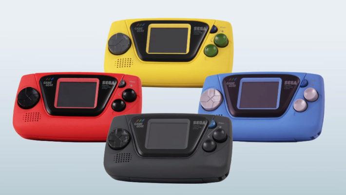 Game Gear Micro – SEGA dévoile une console microscopique à 40€