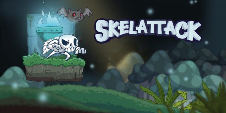 Skelattack – Volez dès maintenant au secours des habitants de l'au-delà menacés par de terribles humains !