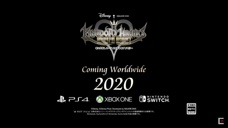 Kingdom Hearts: Melody of Memory – Annoncé sur PlayStation 4, Xbox One et Nintendo Switch
