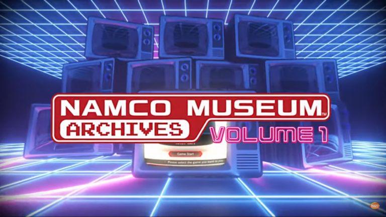 NAMCO MUSEUM ARCHIVES – Débarque prochainement sur Nintendo Switch, PlayStation 4, Xbox One et PC