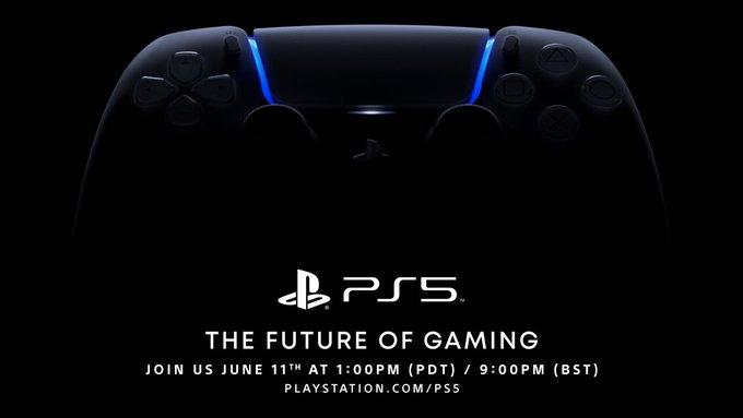 PlayStation 5 – Le live de Sony aura lieu le 11 juin à 22h!
