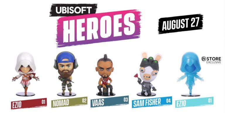 Ubisoft Heroes – Des nouvelles figurines bientôt en vente